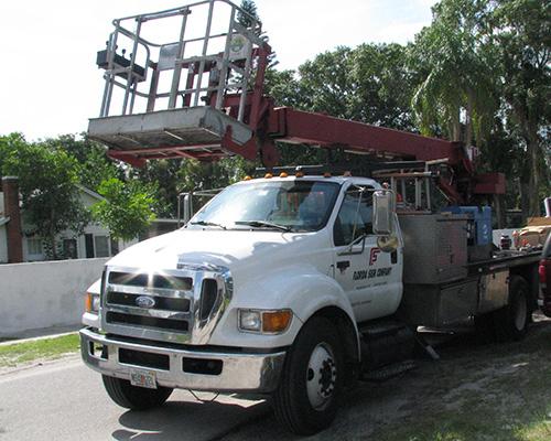 florida sign truck