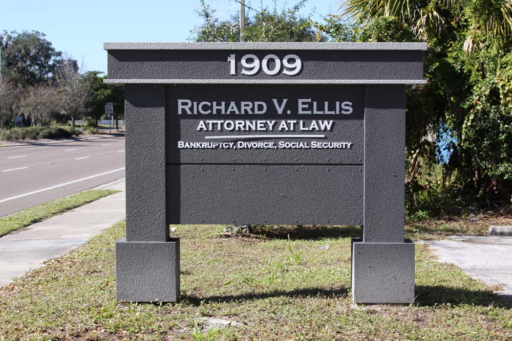 Attorney Office Signage - Monument Signs