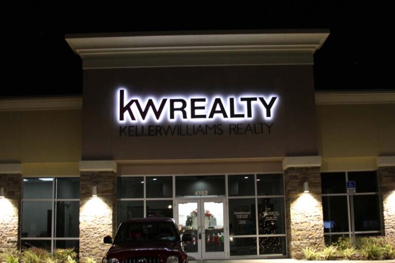 BRIGHTEN THE NIGHT WITH LIGHTED SIGNS
