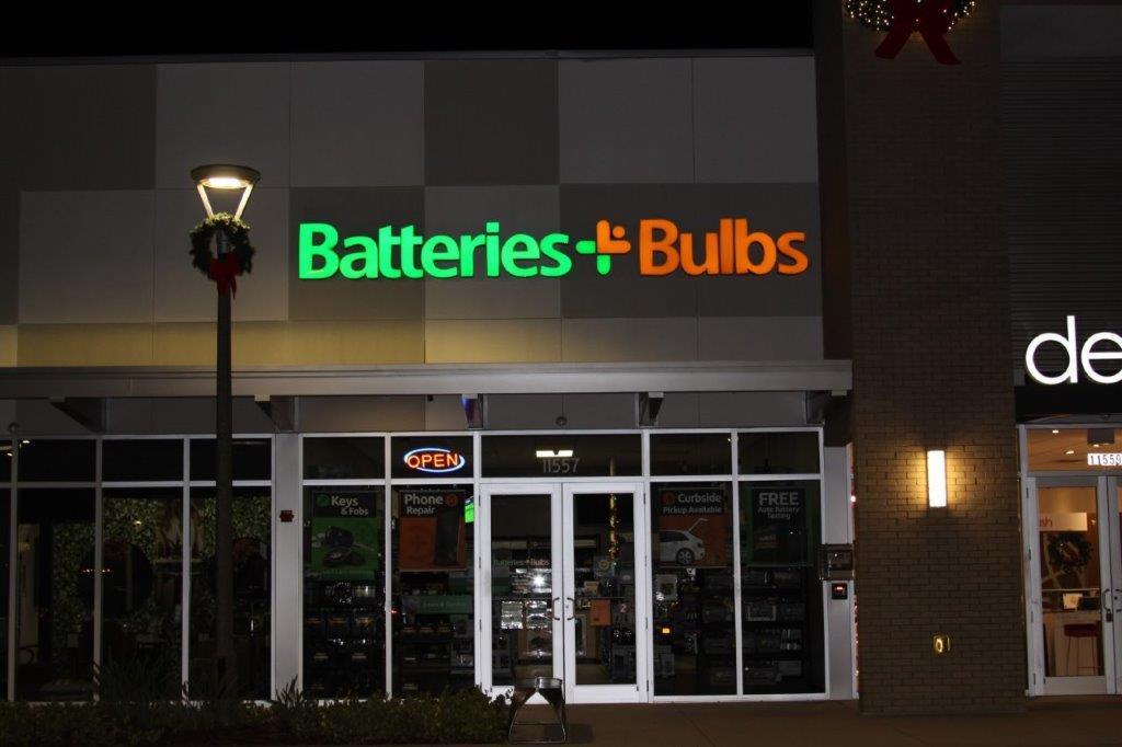 Illuminated Business Signs - Batteries + Bulbs