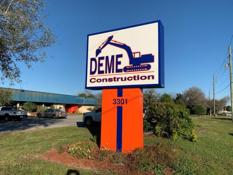 YOUR BUSINESS STANDS OUT WITH A CUSTOM SIGN