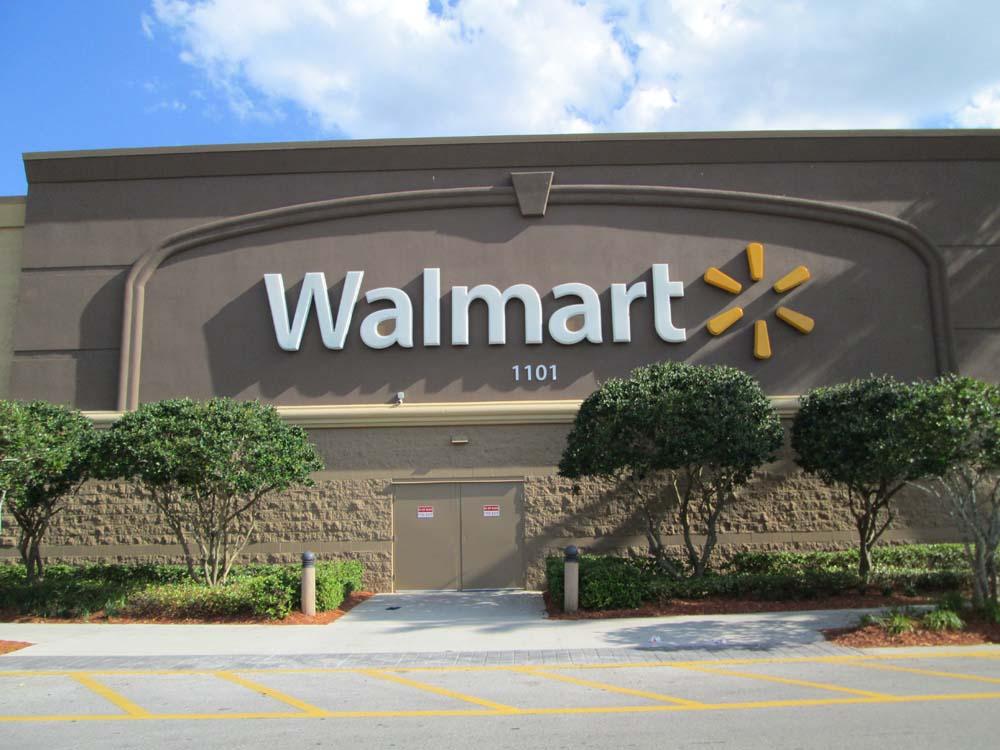 Business Signage - Walmart